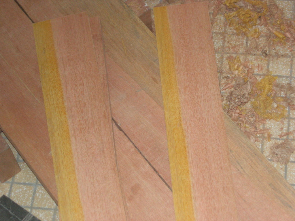 Kapur Heartwood/Sapwood Mix